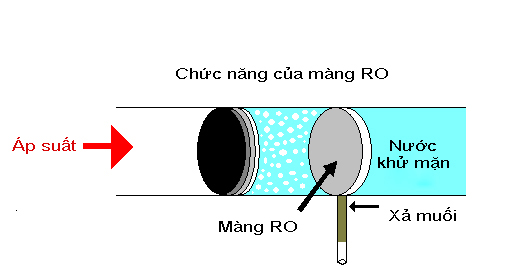 Chức năng của màng RO